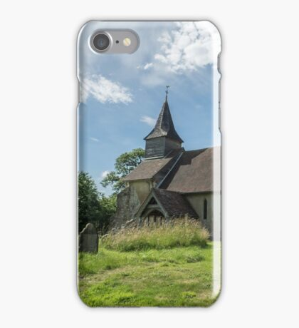 Colemore Church, Hampshire iPhone Case/Skin