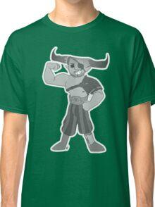 Vintage cartoon Iron Bull Classic T-Shirt