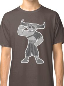 Vintage cartoon Iron Bull Classic T-Shirt