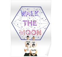 Moon Walking Is Hard Poster