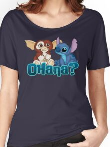 Gizmo and Stitch Women's Relaxed Fit T-Shirt