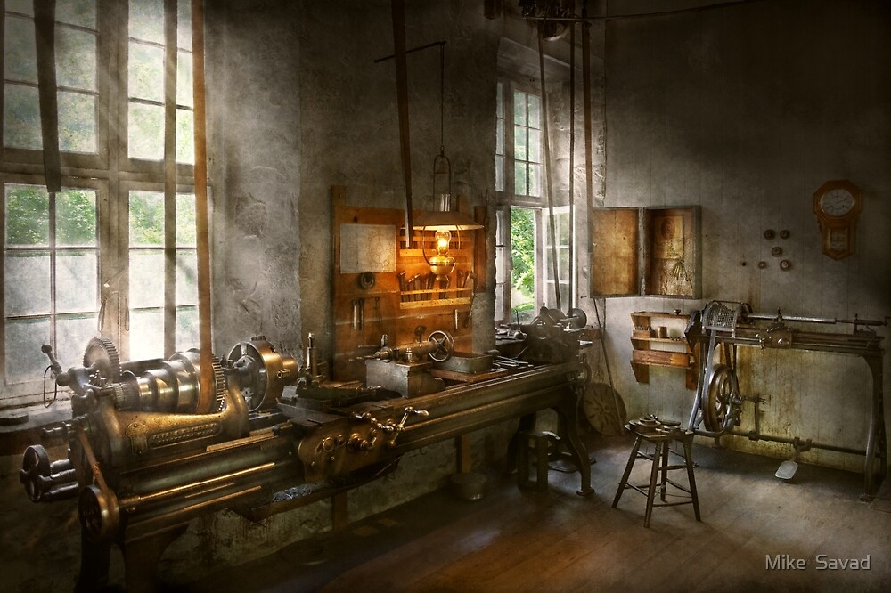 Machinist - Lathes by Mike  Savad