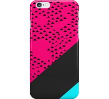 Modern Triangles and Color Blocks iPhone Case/Skin