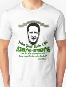 jock stein 25th anniversary 'with quote' Unisex T-Shirt