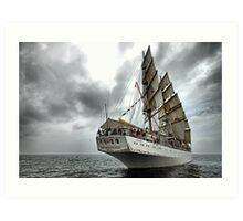 Sail away... Art Print