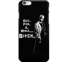 Spike in his own words (white) iPhone Case/Skin