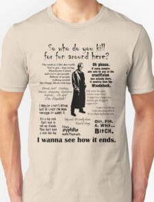 Spike in his own words (black) T-Shirt
