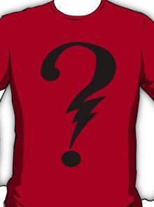 Question Bolt T-Shirt
