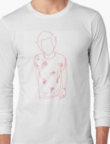 Harry Styles Hands White/Red Long Sleeve T-Shirt