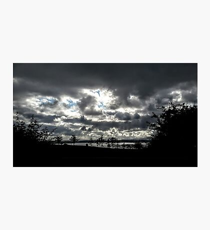 Inch Island Clouds...........................Ireland Photographic Print