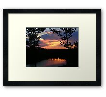 Hot Humid Days Framed Print
