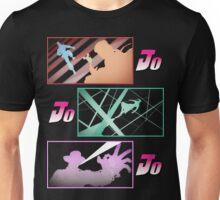 Jojo's Bizarre Adventures: Stardust Crusaders Co-Protagonists Portraits Unisex T-Shirt