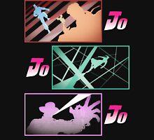 Jojo's Bizarre Adventures: Stardust Crusaders Co-Protagonists Portraits T-Shirt