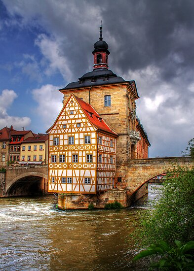 ALTES RATHAUS - BAMBERG by Michael Sheridan