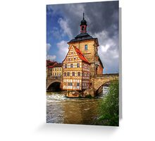 ALTES RATHAUS - BAMBERG Greeting Card