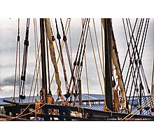 The Rigging. Photographic Print
