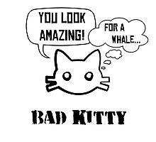 Bad Kitty - Backhand Photographic Print