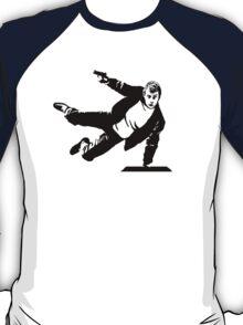 Three Seven - black T-Shirt