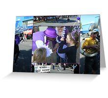Moe Jazz Festival 2010 Greeting Card