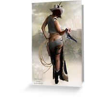 Wild West Greeting Card