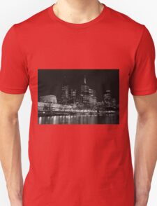 0353 Melbourne by Night Unisex T-Shirt