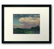 From Lansdowne - Evening Thunderhead Over Comboyne Framed Print