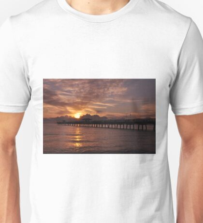 Sunrise in Fort Lauderdale, As Is Unisex T-Shirt