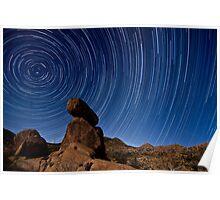 Solitude: A wilderness star trail  Poster