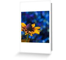 Sunny Day, Blue Mood Greeting Card