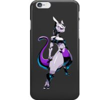 pokemon mewtwo mew anime manga shirt iPhone Case/Skin