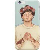 Tommo flower crown iPhone Case/Skin