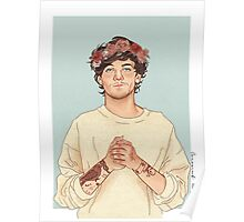 Tommo flower crown Poster