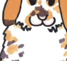 Chubby Bunny 'Holly' Sticker