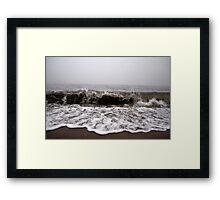 Rough Seas - I Framed Print