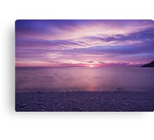 Cloudy morning in Winthrop Canvas Print