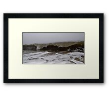 Rough Seas - II Framed Print