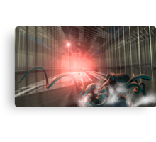BioHaz! Condition Red! (Corporate Experiment II) Canvas Print