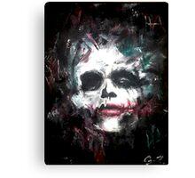 Joker Skull Canvas Print