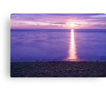 colorful sunrise in New England Canvas Print