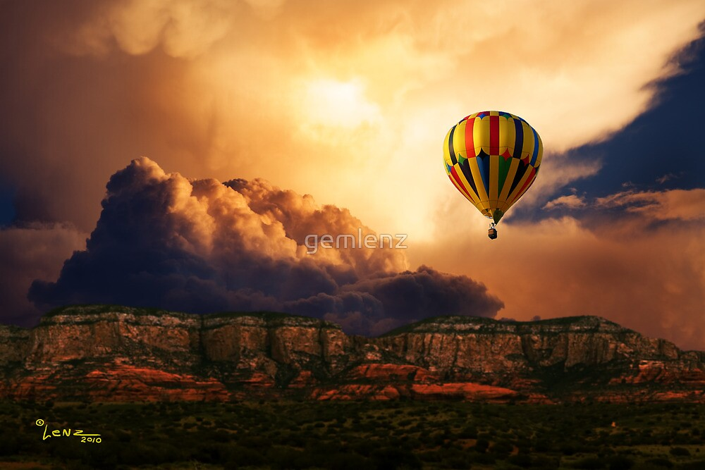 Flying Above by George Lenz