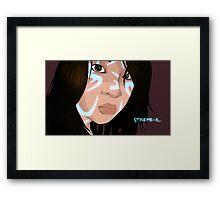 Styleme-K Framed Print