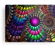 Jungle Rainbow Metal Print