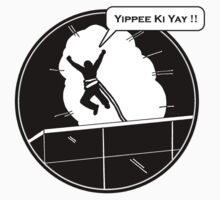 Yippee Ki Yay - with speech bubble T-Shirt