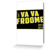 Tour De France - Chris Froome Greeting Card