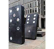 the domino effect Photographic Print