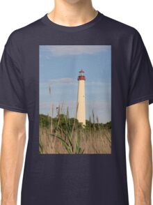 Cape May Lighthouse through the Reeds Classic T-Shirt