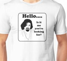 Hello is it me you are looking for? (Athos) Unisex T-Shirt