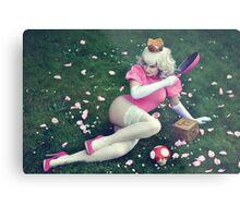 Princess Peach II Metal Print