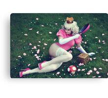 Princess Peach II Canvas Print