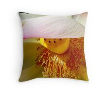 Shaded Lotus Throw Pillow